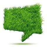 Bąbel Zielonej trawy tekstura Obrazy Royalty Free