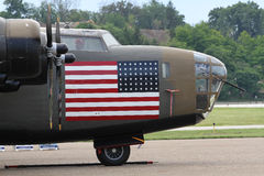 B-24 bevrijder Royalty-vrije Stock Afbeeldingen