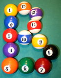 B for Billiard royalty free stock images