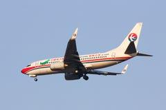 B-5245 Boeing 737-700 av Kina det östliga flygbolaget Arkivbilder
