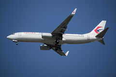 B-7590 Boeing 737-800 av Kina det östliga flygbolaget Royaltyfria Bilder