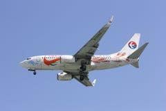 B-5293 Boeing 737-700 av Kina det östliga flygbolaget Royaltyfri Fotografi