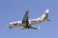 B-5293 Boeing 737-700 av Kina det östliga flygbolaget Royaltyfri Bild