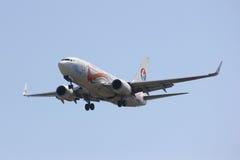 B-5293 Boeing 737-700 av Kina det östliga flygbolaget Arkivbilder