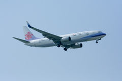 B-18601 Boeing 737-800 of China airline. Royalty Free Stock Photography