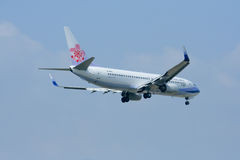 B-18601 Boeing 737-800 of China airline. Royalty Free Stock Photos