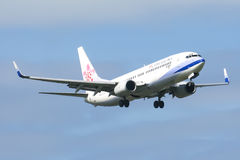 B-18617 Boeing 737-800 of China airline Stock Images