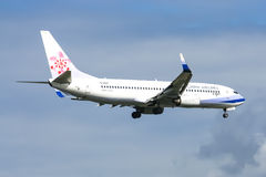 B-18617 Boeing 737-800 of China airline Royalty Free Stock Image