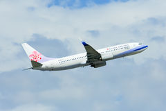 B-18615 Boeing 737-800 of China airline Royalty Free Stock Photos