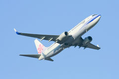 B-18608 Boeing 737-800 of China airline Royalty Free Stock Photography