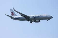 B-1530 Boeing 737-800 de Air China Imagem de Stock