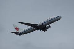B-5312 Boeing 737-800 de Air China Imagens de Stock