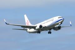 B-18617 Boeing 737-800 de ligne aérienne de la Chine Images stock