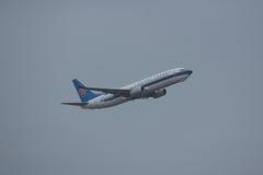 B-6067 Boeing 737-800 de ligne aérienne du sud de la Chine Images libres de droits