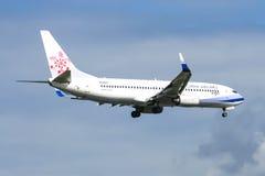 B-18617 Boeing 737-800 della linea aerea della Cina Immagine Stock Libera da Diritti