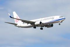 B-18617 Boeing 737-800 della linea aerea della Cina Immagini Stock Libere da Diritti