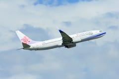 B-18615 Boeing 737-800 della linea aerea della Cina Fotografie Stock Libere da Diritti
