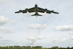 B-52 Boeing Stratofortress. A B-52 deployed to RAF Fairford in an exercise during June 2014 stock photography