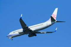 B-18608 Boeing 737-800 von China-Fluglinie Stockbilder