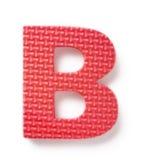 b-bokstav Royaltyfri Fotografi