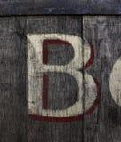 B Bokstav från alfabetet royaltyfri fotografi