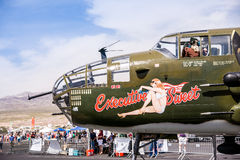 B-25 Bomber at an Air Show Royalty Free Stock Photography