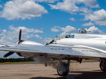 B17 Bomber's Propellers Royalty Free Stock Photos