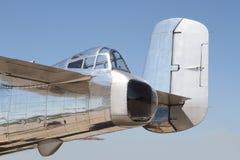 B-25 Bommenwerper Mitchell stock afbeelding