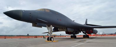 B-1 Bone/Lancer Bomber Royalty Free Stock Photo