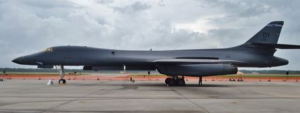 B-1 Bone/Lancer Bomber Stock Photos