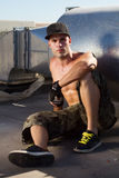 B-boy Royalty Free Stock Images