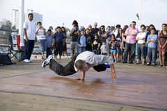 B-Boy 17 Royalty Free Stock Photography