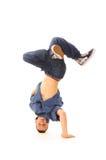 B-boy in dance Stock Photography