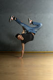 B-boy dancer Stock Photography