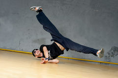 B-boy dancer Stock Photos