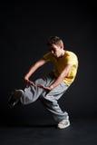 B-boy dancing Stock Photo