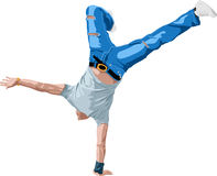 B-boying Stock Images