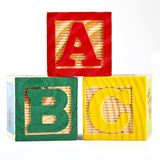 A B C Stock Images