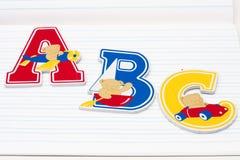 A B C Stock Image