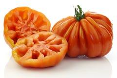 b c de świeży pomidorów uf ur obraz stock