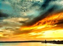 B cekmece海边,伊斯坦布尔,火鸡 库存图片