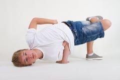 b chłopiec mrozu nastolatek Obrazy Stock