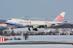 B747 China Airlines Cargo Stock Images