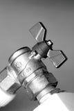 b-close upp ventil w Arkivbild