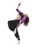 b-dansare n r Arkivbild
