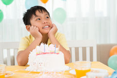 B-day boy Stock Photos