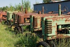 b-deerejohn model traktorer 1939 Royaltyfri Fotografi