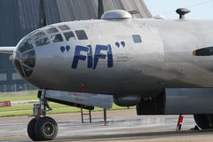 B-29 fecham-se acima Fotografia de Stock Royalty Free