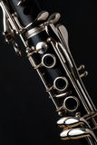 B flat clarinet Stock Photo