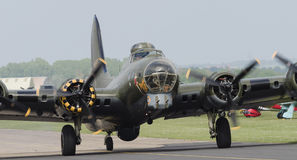 B17 Flying Fortress 'Memphis Belle' royalty free stock photo